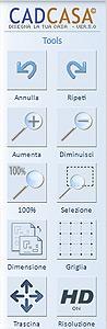 CadCasa 5: Comandi Tools